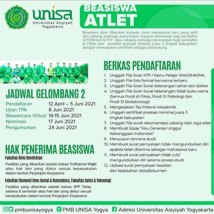 Beasiswa Atlet
